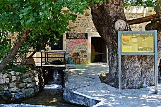 Water mill in Zaros